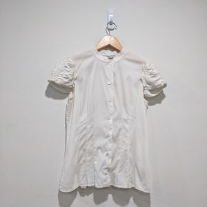 Prada Women Button Down White Blouse
